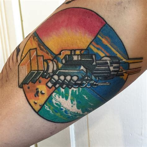 wish you were here tattoo pink floyd wish you were here album cover inner arm