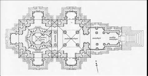 hindu temple floor plan kandariya tumblr