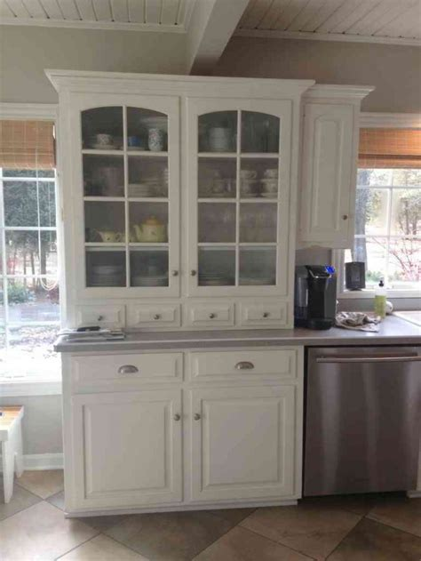 Kitchen Kitchen Hutch Cabinets For Efficient And Stylish Kitchen Furniture Hutch