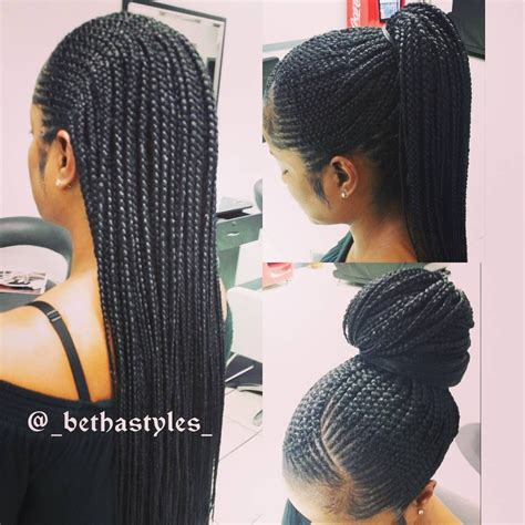 box braids in front weave in back 94 likes 1 comments imebet bethastyles on