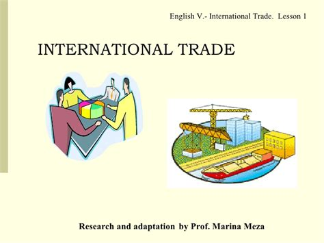 what are trade what is international trade les 1