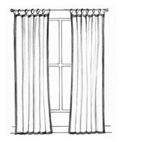Flat Panel Curtains Modern Renaissance Home Style Wants New Drapes