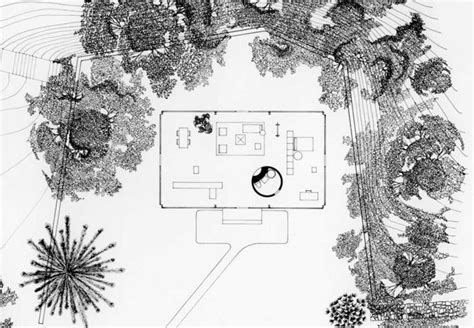 philip johnson glass house floor plan philip johnson s other career landscape architecture