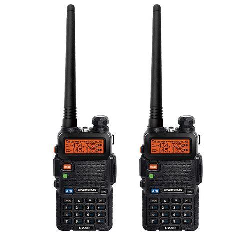 Best Quality Taffware Walkie Talkie Dual Band Radio 8w 128ch Uhf Vhf 2pcs baofeng uv 5r handheld fm dual band vhf uhf two way walkie talkie radio kf ebay