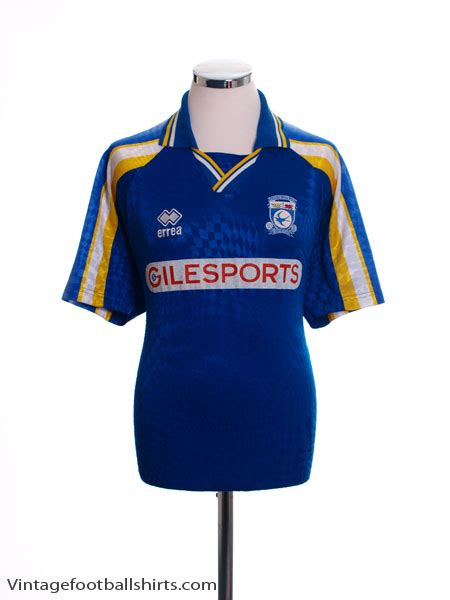 Cardiff City Home 1997 98 cardiff city home shirt xl for sale