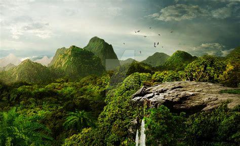 Jungle Landscape Pictures Jungle Landscape By Feathersnchains On Deviantart