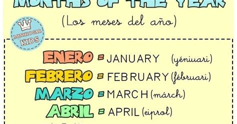 imagenes en ingles de los meses del año el blog de nito y sito los meses del a 241 o en ingl 233 s