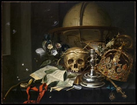 Tableau De Vanité by Vanitas Still Mount Holyoke College Museum