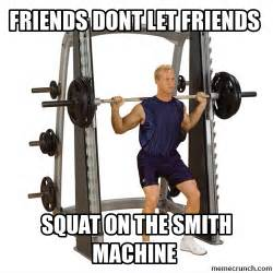 smith machine bad the problem with smith machines