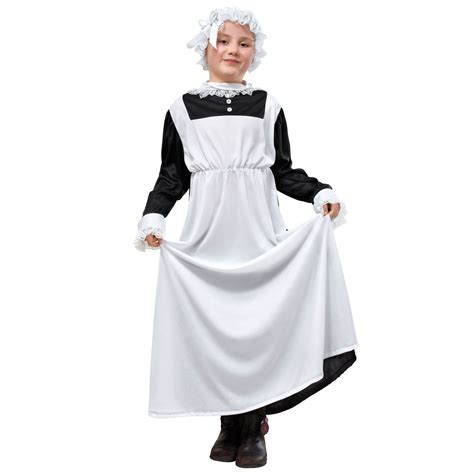 Childs Victorian Maid Fancy Dress Book Week Costume