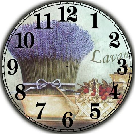 Decoupage Clock - clocks
