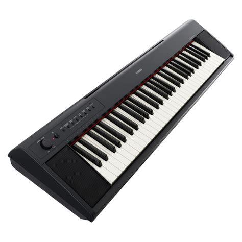 Keyboard Portable Yamaha Np11 Piaggero 61 Key Portable Keyboard