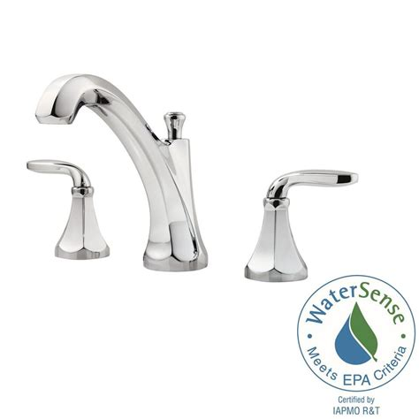 designer faucets bathroom pfister designer 8 in widespread 2 handle bathroom faucet in polished chrome lf 049 decc the