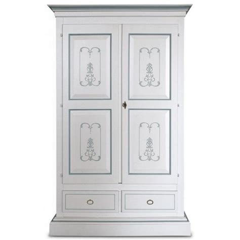 armadio bianco laccato armadio laccato bianco decorato italian decor outlet