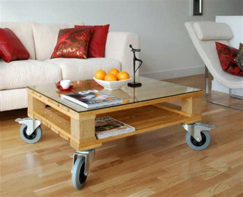 Beautiful Table De Salon En Palette De Bois #4: Meubles-en-palettes-une-table-en-bois.jpg
