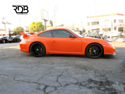 porsche orange paint code rdb la porsche 997 gt3 matte orange customized