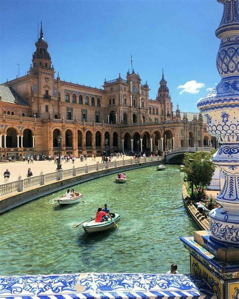 In Spain study abroad in seville spain and visit the plaza de