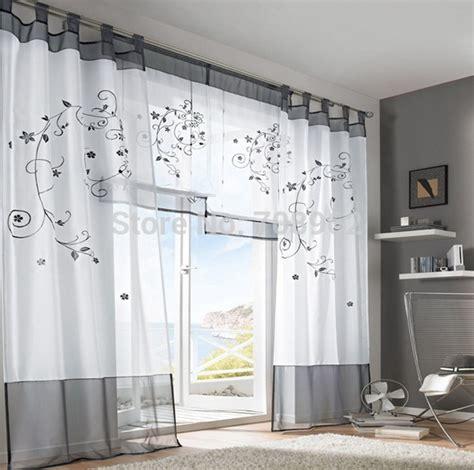 gardinen stores modern moderne wohnzimmer gardinen