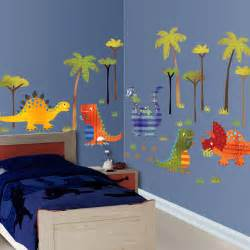 dinosaur wall decals for rooms dinosaur wallscape decal contemporary wall decor