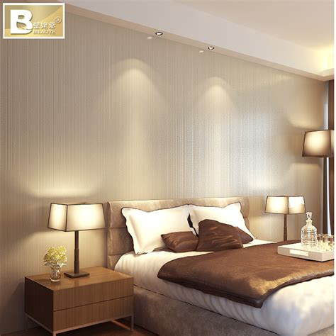 Beige Bedrooms by Newlynonwoven Wallpaper Wall Papers Roll Free Shipping