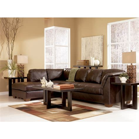 ashley furniture leather sectional with chaise furniture knie appliance and tv inc