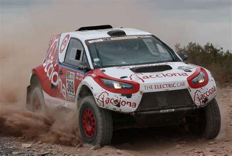 Rally Auto Bauen by Erstes Elektroauto Meistert Rallye Dakar