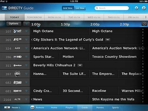 directv spoil   guide redesign    solid signal blog