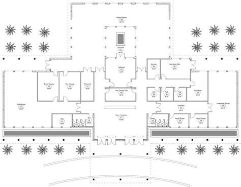 rehabilitation center floor plan rehabilitation clinic floor plan the spine and rehab