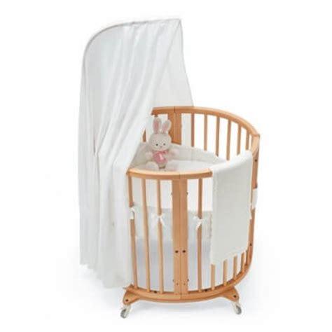 beautiful oval  baby cribs  unique nursery decor