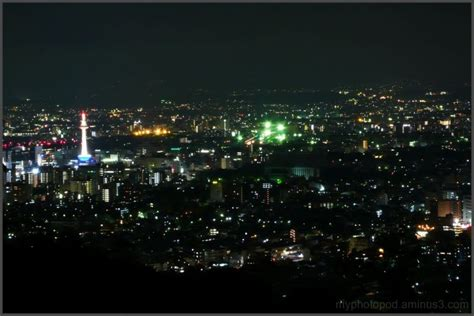 Beautiful States the night view of kyoto city cityscape amp urban photos