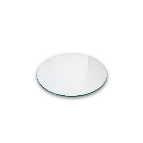 plateau verre plateau verre clair diam 232 tre 110cm