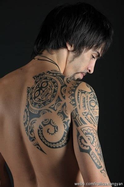 tribal shoulder blade tattoos 20 best totem images on totem pole