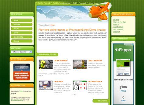 Flash Websites Website Templates Free Website Templates Free Web Templates Flash Templates Arcade Website Template