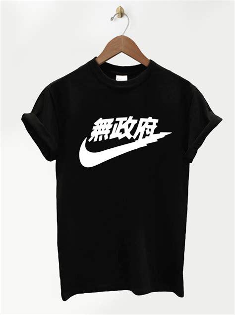 fan made t shirts t shirt nike fan made logo noir blanc xs au xl