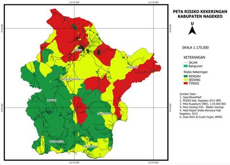 layout peta geologi pelatihan aplikasi qgis dalam kajian risiko bencana di