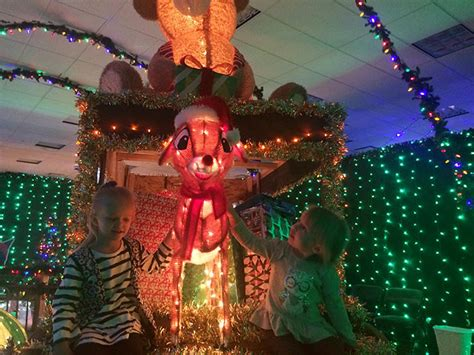 enchanted christmas tour of lights brightens holiday the