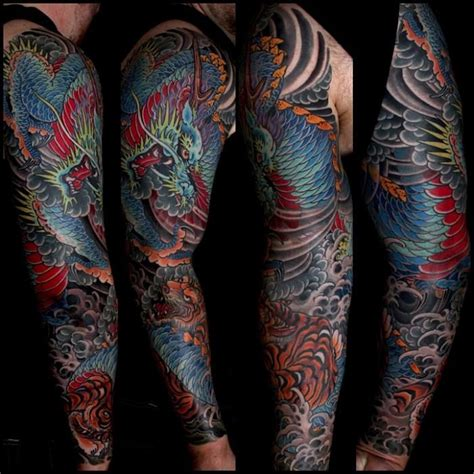 mike rubendall japanese tattoos oriental tattoos pinterest