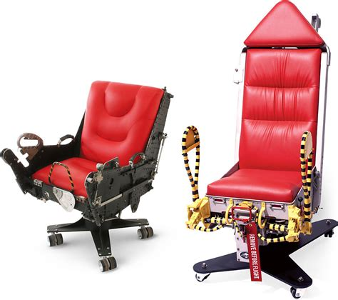 MotoArt Ejection Chairs   Uncrate