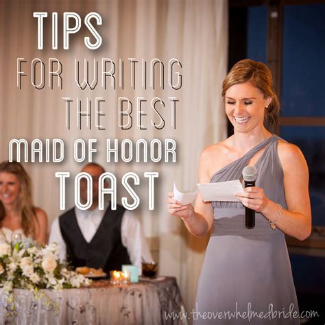 Tips For Writing the Best Maid of Honor Toast   I Do