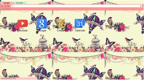 theme chrome vintage theme for google chrome vintage 13 spring chrome themes to