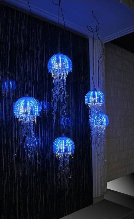 intriguingly captivating jellyfish pendant light ideas