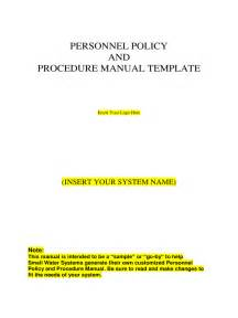 Policy Manual Template by Policies And Procedures Template 2 Free Templates In Pdf