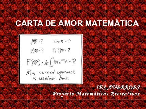 imagenes matematicas de amor cartas amor