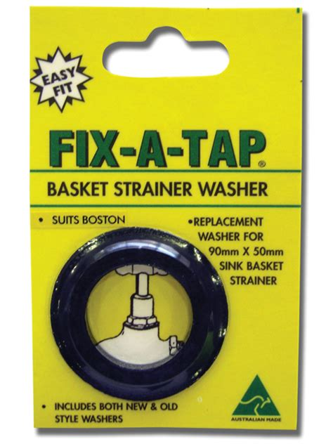 How To Fix A Sink Plug by Basket Strainer Washer Suits Boston Fix A Tap