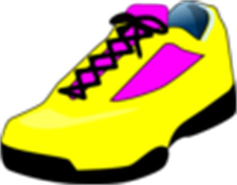 Yellow Shoes Wanitaboots Blaster Bl02 tennis shoes clip at clker vector clip royalty free domain