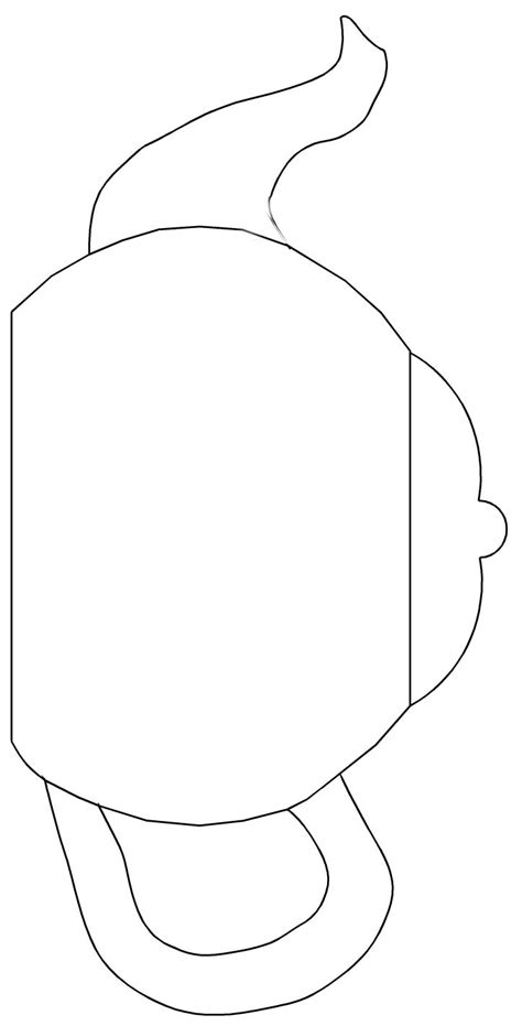 free headshot template teapot templates free printable cut the teapot handle