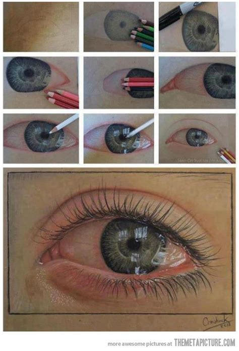 dibujo de ojo con lagrima realizado con lapices de grafito proceso de ojo realista con l 225 pices de colores podemos