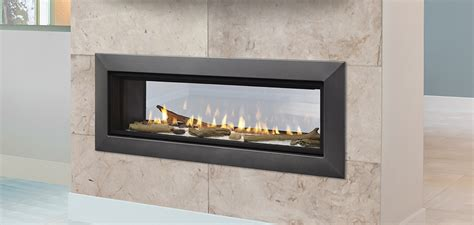 echelon ii see through direct vent gas fireplaces by