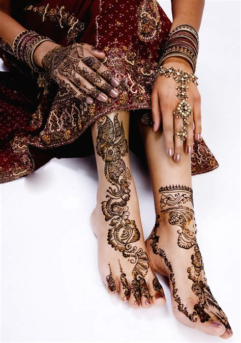 indian bridal henna tattoo henna