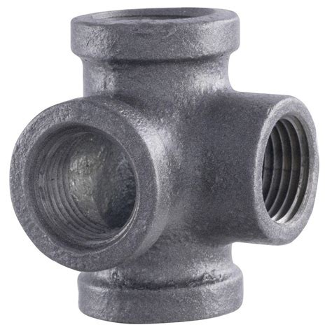 ldr industries pipe decor 1 2 in black iron pipe side